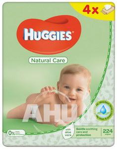 Вологі серветки Huggies natural care алое №224
