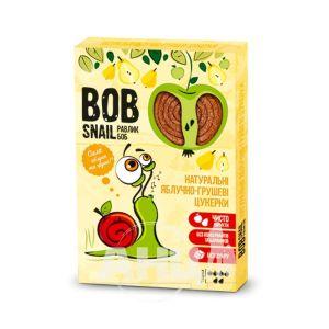 Цукерки натуральні Равлик Боб яблуко-груша 60 г