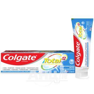 Зубная паста Colgate total 12 professional clean 75 мл