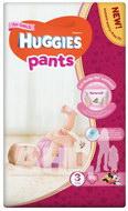 Підгузки-трусики Huggies Pants розмір 3 для дівчаток (6-11 кг) №44