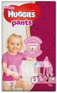 Підгузки-трусики дитячі гігієнічні для дівчаток Huggies Pants 5 (12-17 кг) №34
