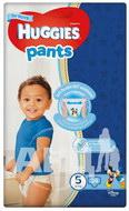 Підгузки-трусики дитячі гігієнічні Huggies Pants для хлопчиків 5 (12-17 кг) №34
