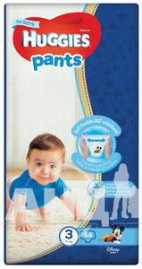 Подгузники-трусики Huggies Pants размер 3 для мальчиков (6-11 кг) №44
