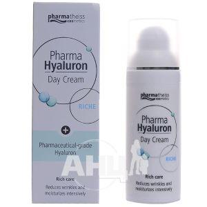 Крем для обличчя Pharma Hyaluron Riche денний догляд 50 мл