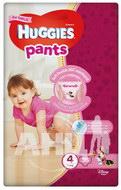 Підгузки-трусики для дівчаток Huggies Pants 4 (9-14 кг)
