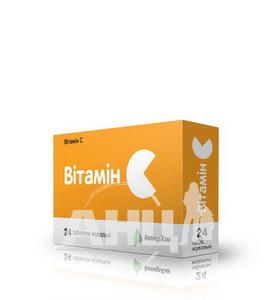 Витамин С таблетки жевательные 500 мг блистер №24