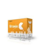 Вітамін С таблетки жувальні 500 мг блістер №24