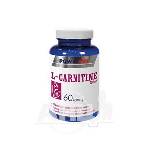 L-карнітин Powerfull капсули 250мг №60