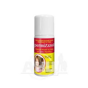 Засіб профілактичний від вош permizzzol аерозоль 70 мл