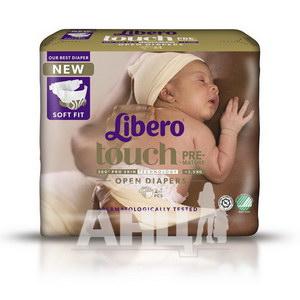 Підгузники для дітей Libero Touch Premature №24