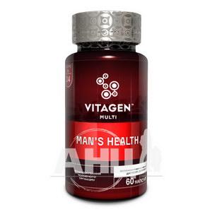 Вітаджен Vitagen Man's Health Чоловіче здоров'я капсули №60