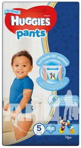 Подгузники-трусики детские гигиенические Huggies Pants для мальчиков 5 (12-17 кг) №44