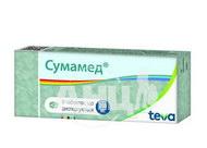Сумамед таблетки дисперговані 250 мг блістер №6
