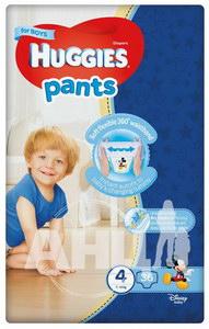 Подгузники-трусики для мальчиков Huggies Pants 4 (9-14 кг) №36