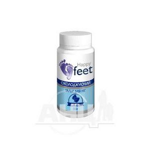 Тальк для ніг охолоджуючий Happy Feet м'ята 50 г