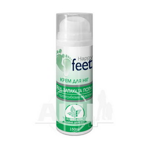 Крем косметичний для ніг від запаху і поту Happy Feet 150 мл