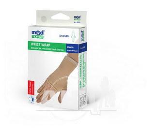 Бандаж на лучезапястный сустав эластичный MedTextile L