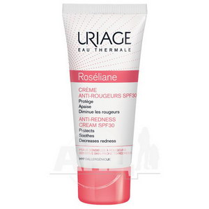 Солнцезащитный крем для лица Uriage Roseliane Creme Anti-Rougeurs SPF 30 против покраснений 40 мл
