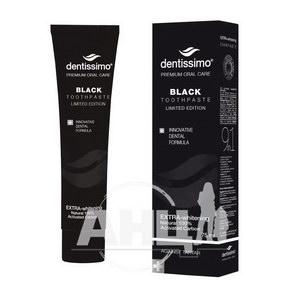 Зубная паста Dentissimo Black extra-whitening 75 мл