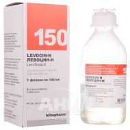 Левоцин-Н розчин для інфузій 500 мг/100 мл флакон 150 мл №1