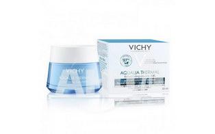 VICHY Аквалия Термаль, гель-крем для глубокого увлажнения кожи лица. Для нормальной и комбинированной, обезвоженной кожи, 50 мл