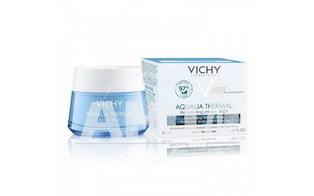 VICHY Аквалия Термаль, насыщенный крем для глубокого увлажнения кожи лица. Для сyxoй и очень сухой обезвоженной кожи, 50 мл