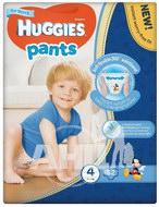 Підгузки-трусики Huggies Pants 4 для хлопчиків (9-14кг) №52