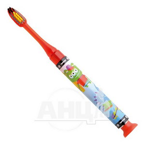 Зубная щетка GUM Junior Monster Light-Up мягкая