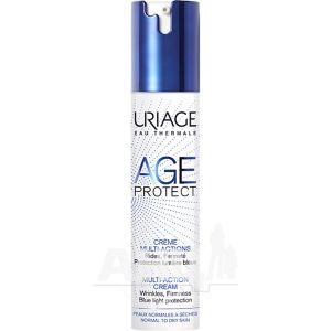 Мультиактивний крем для обличчя Uriage Age Protect Multi-Action Cream проти зморшок для нормальної та сухої шкіри 40 мл