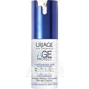Сыворотка для контура глаз Uriage Age Protect Multi-Action Eye Contour против морщин 15 мл