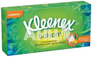Платочки носовые Kleenex Balsam №72