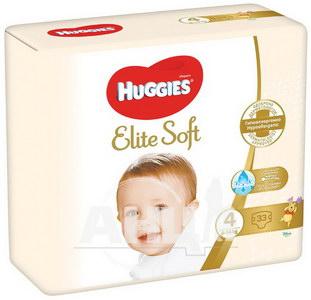 Подгузники детские гигиенические Huggies Elite Soft 4 (8-14кг) №33