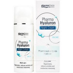 Крем для обличчя Pharma Hyaluron Riche нічний догляд 50 мл