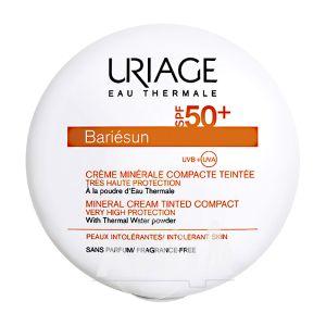 Крем-пудра Uriage Bariesun солнцезащитная SPF50 тон светлый 10 г