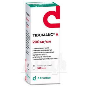 Тивомакс А раствор оральный 200 мг/мл флакон 200 мл