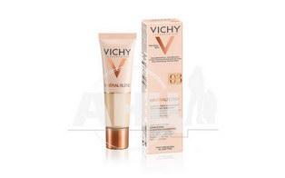 Тональный крем Vichy Mineralblend Cream Увлажняющий Gypsum тон 03 30 мл