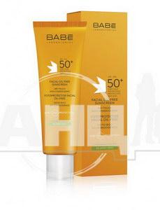 Крем сонцезахисний Babe Laboratorios Sun Protection для жирної та комбінованої шкіри SPF 50+ 50 мл