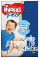 Підгузки-трусики дитячі гігієнічні Huggies Pants Jumbo для хлопчиків 6 (15-25кг) №30