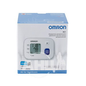 Автоматичний тонометр на зап'ястя Omron RS1 НEМ-6160-E
