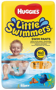 Подгузники для плавания Huggies Little Swimmers (12-18 кг) №11