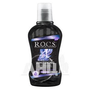 Ополіскувач для порожнини рота R.O.C.S. black edition відбілюючий 250 мл