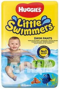 Подгузники для плавания Huggies Little Swimmers (7-15 кг) №12