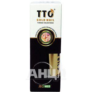 Рідина по догляду за нігтями TTO Gold Nail 10 мл