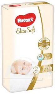 Підгузки дитячі гігієнічні Huggies Elite Soft 2 (4-6кг) №50