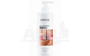Шампунь Vichy Dercos Kera-Solutions для реконструкції поверхні пошкодженого ослабленого волосся 250 мл