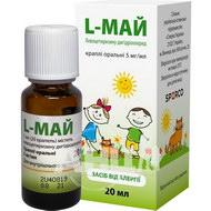 L-май краплі оральні 5 мг/мл 20 мл