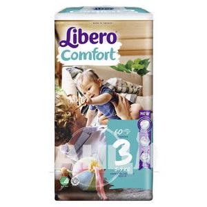 Підгузки для дітей Libero Comfort 3 5-9кг №60
