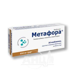 Метафора таблетки 850мг №30