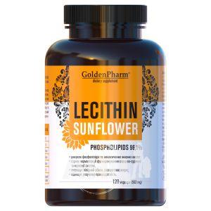 Лецитин подсолнечный капсулы 562 мг №120