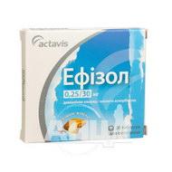 Эфизол таблетки для рассасывания блистер №20